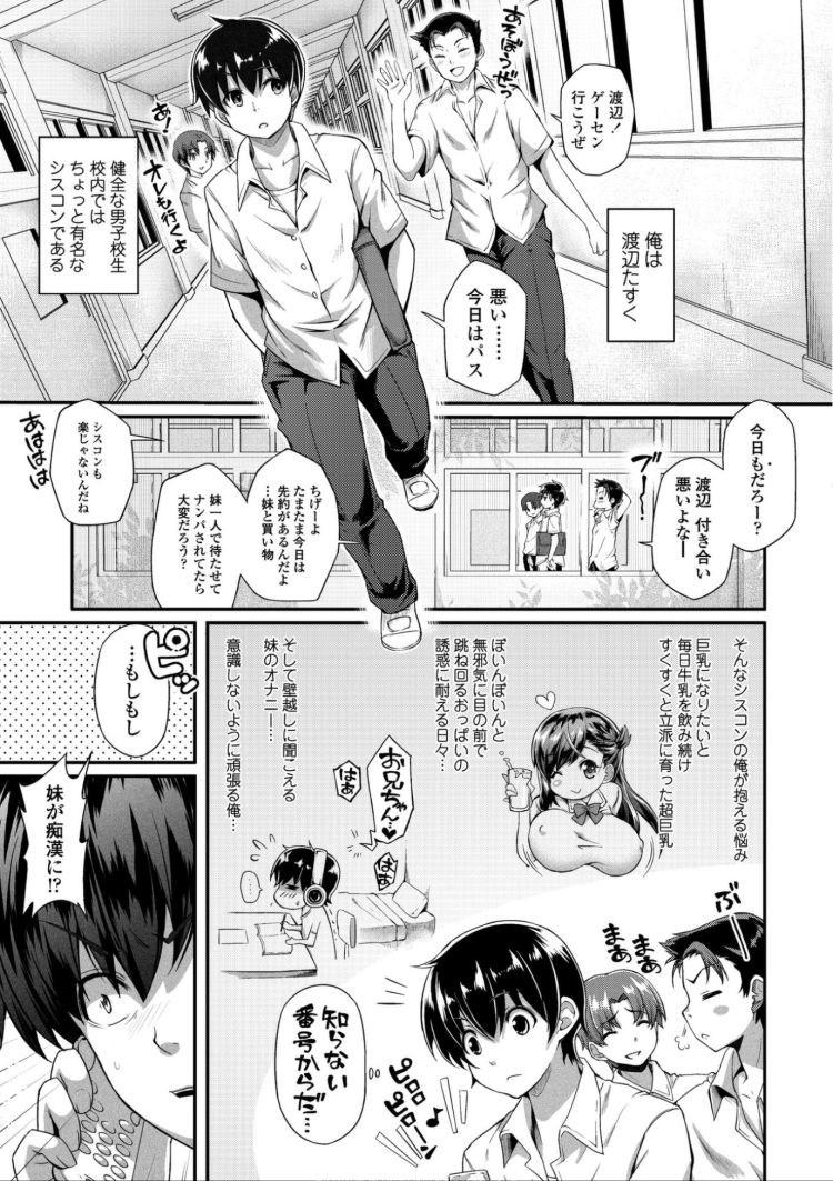 【JKエロ漫画】重度のシスコン兄は痴漢された妹に近親相姦するが妹のほうがお兄ちゃん大好きすぎたww00003
